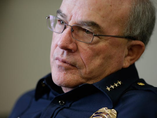 Green Bay Interim Police Chief James Lewis reflects