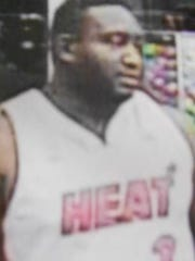 This man is one of three suspects in the beating of a store employee on Sept. 18 in the Walmart on Dyer Street.