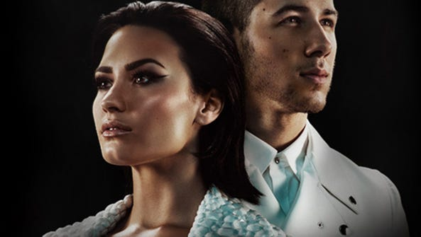 Demi Lovato and Nick Jonal will perform at 7:00 p.m.