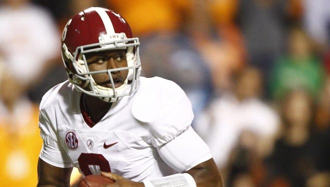 Alabama fifth-year senior quarterback Blake Sims admitted Saturday he's not a fan of flying.