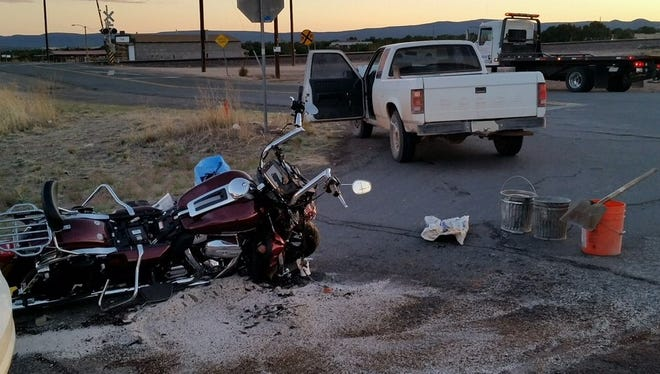A Kingman couple riding on a motorcycle was killed in a traffic collision on May 3, 2018.