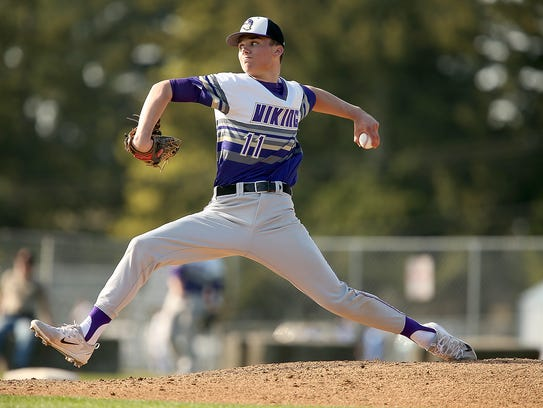 North Kitsap's Ryan Hecker led all West Sound pitchers in strikeouts last season as a junior.