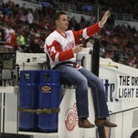 They're back! Tigers bring good luck to Red Wings, Pistons