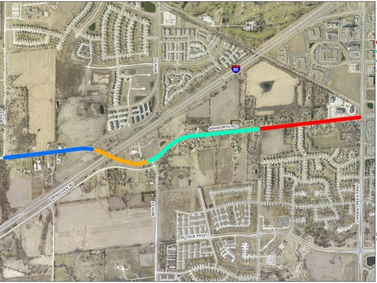 West Des Moines Pushes For I 80 Interchange At Ashworth Road