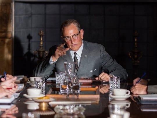 "Woody Harrelson stars as President Lyndon B. Johnson in director Rob Reiner's ""LBJ."""