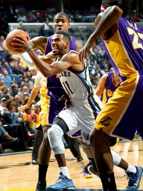 November 11, 2014 -  Memphis Grizzlies Mike Conley