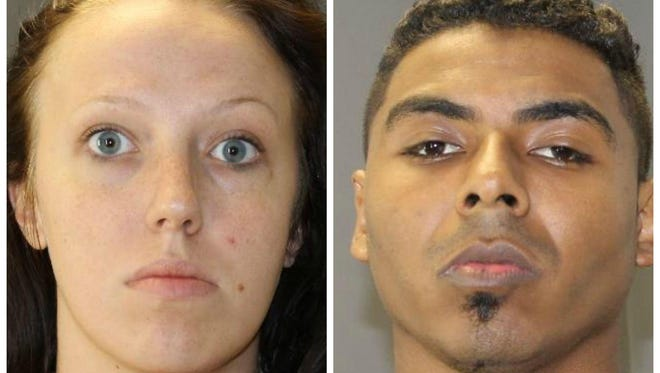 Victoria Roe and Donald Hicks Jr. pleaded guilty this week to drug and weapons charges after police found more than 1,000 grams of cocaine during a drug raid.