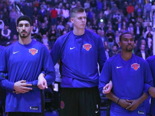USP NBA: PRESEASON-BROOKLYN NETS AT NEW YORK KNICK S BKN NYK BKN USA NY