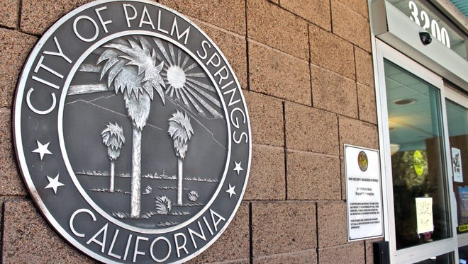 The City of Palm Springs, California, seal.