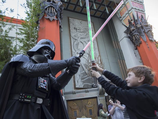 """Hollywood Prepares For The Premiere Of Walt Disney Pictures And Lucasfilm's """"Star Wars: The Force Awakens"""""""