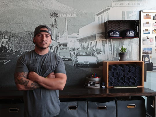 Jaime Jimenez, the owner of One Eleven Conditioning