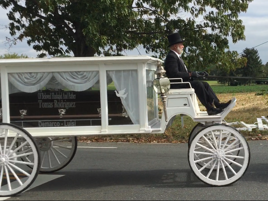 Hearse carriage