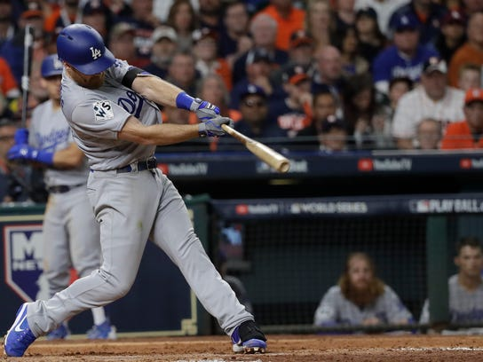 Logan Forsythe will be looking for more consistency at the plate in 2018.