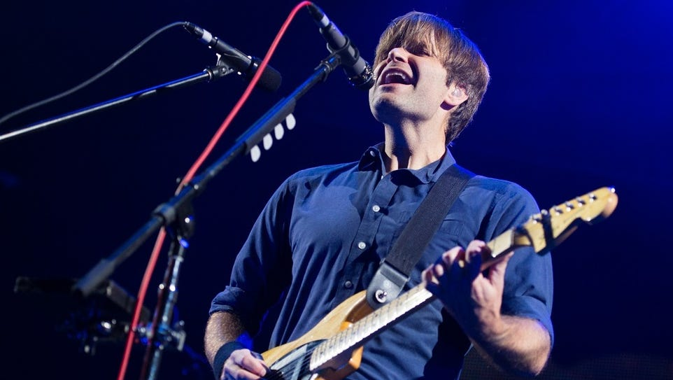 Ben Gibbard will perform with Death Cab for Cutie on