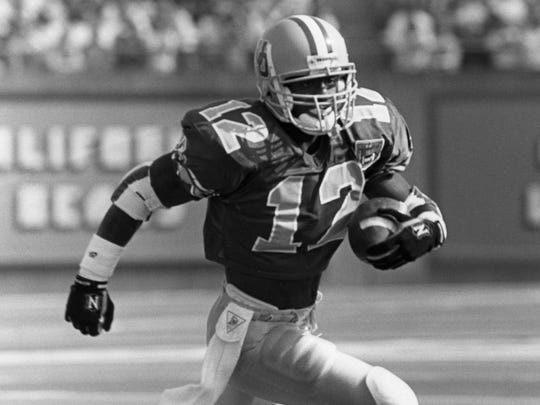 Oregon's Dino Philyaw scored the game-winning touchdown for the Ducks in the 1994 Civil War.