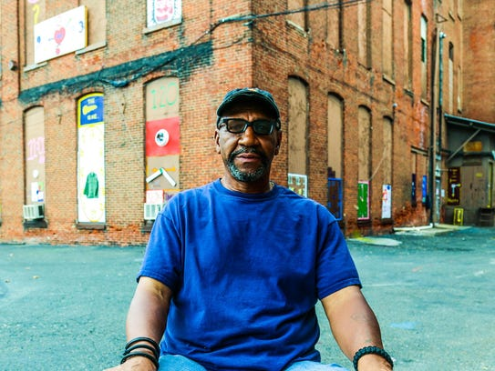 """Tyree Guyton: """"The world is calling me now, but Detroit"""