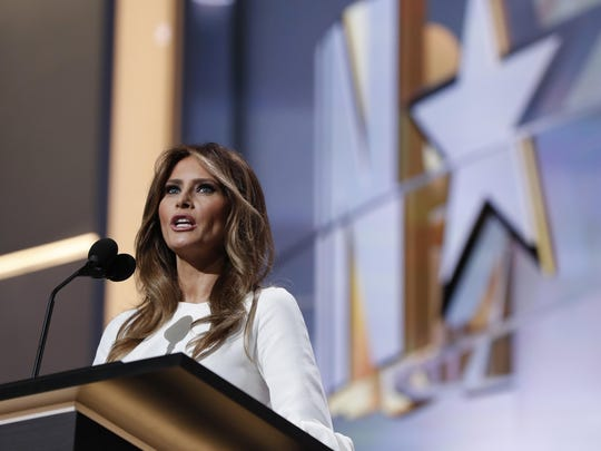 Melania Trump, wife of Republican presidential nominee Donald Trump, is under fire for the speech she gave Monday night at the Republican National Convention in Cleveland.
