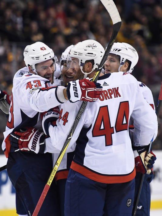 NHL: Washington Capitals at Boston Bruins