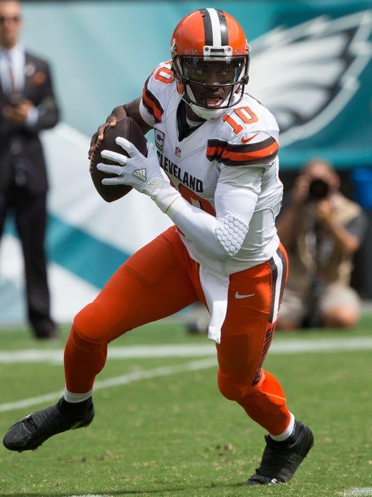 USP NFL: CLEVELAND BROWNS AT PHILADELPHIA EAGLES S FBN USA PA
