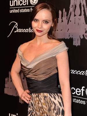 Christina Ricci attends The Ninth Annual UNICEF Snowflake Ball at on Dec. 3. in New York.