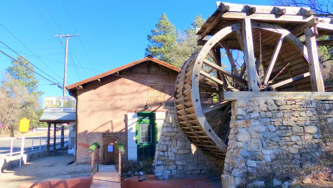 Supporters of the Old Mill at 641 Sudderth Drive in Ruidoso hope to have the water wheel operating at the event Saturday to demonstrate how the big stones grind wheat.