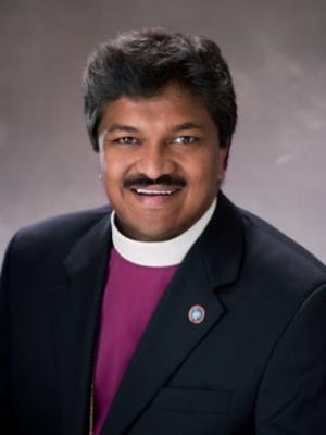 Rt. Rev. Prince G. Singh honored with the George Exley-Stiegler Award. Oct. 26, 2017