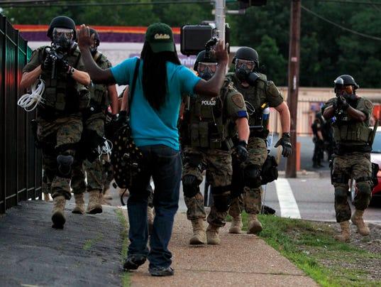 AP KILLINGS BY POLICE MISSOURI A FILE USA MO