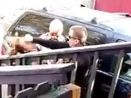Flagstaff police Officer Jeff Bonar was caught on video