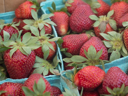 Get Tennessee-grown strawberries while you can at farmers markets.