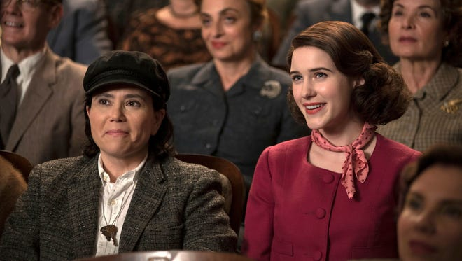 """The Marvelous Mrs. Maisel"" is nominated for a Golden Globe award for best TV comedy or musical series."