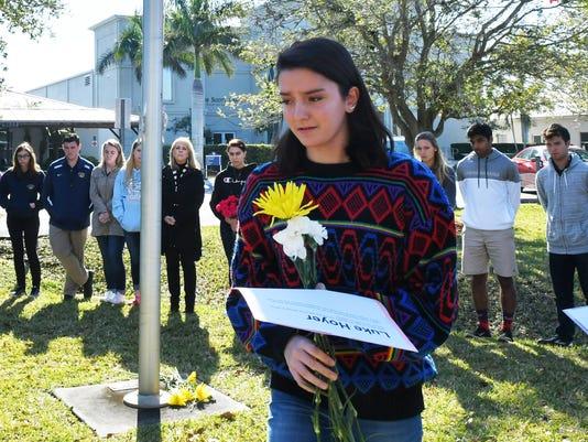 Holy Trinity honors Parkland victims