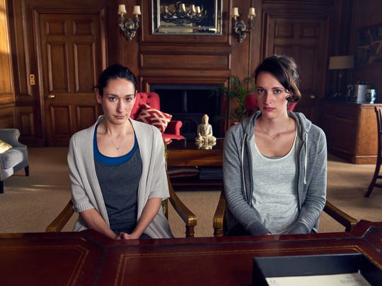 Claire (Sian Clifford) and Fleabag (Phoebe Waller Bridge)