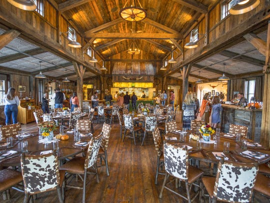 The Ranch at Rock Creek features numerous dining areas,