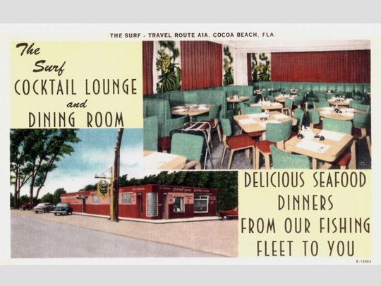 The Surf Cocktail Lounge depicted here in 1948.