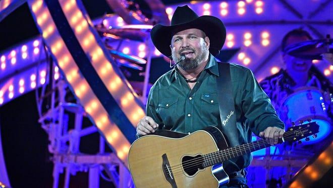 Garth Brooks plays to an adoring crowd at Bridgestone Arena Dec. 9, 2017, in Nashville.