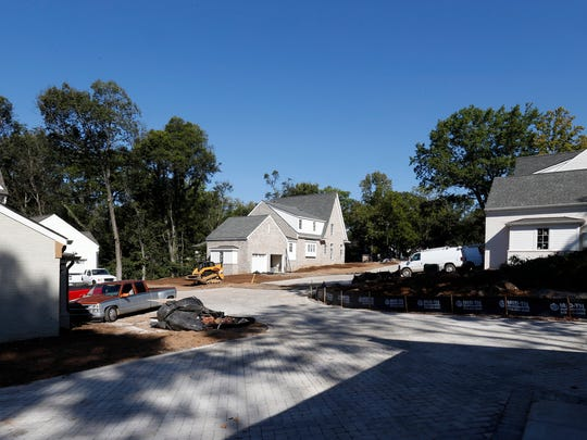 A new development in the Galloway community in Nashville, Wednesday, Sept. 27, 2017