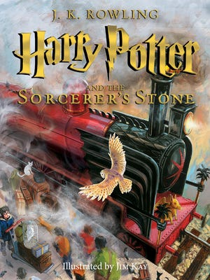 'Harry Potter and the Sorcerer's Stone' by J.K. Rowling, illustrated by Jim Kay