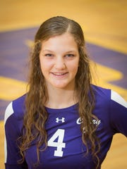 Annie Hatch, sophomore volleyball OH from Mesa, is