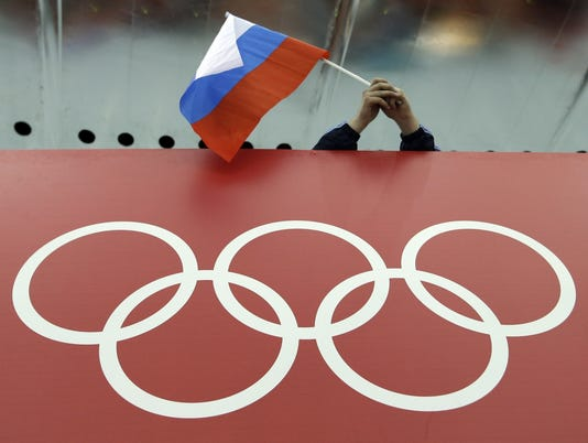 AP RUSSIAN DOPING S FILE ATH OLY RUS