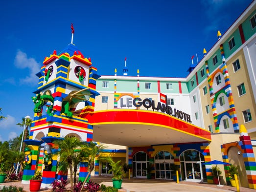 Orlando Lodging Faceoff Disney Universal Legoland