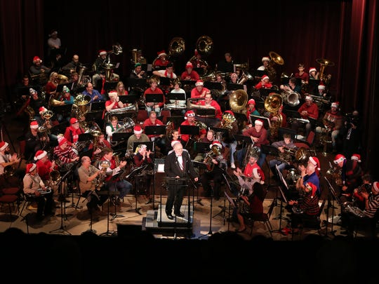 Tuba Holiday returns to the Historic Elsinore Theatre for its annual concert noon Dec. 24.