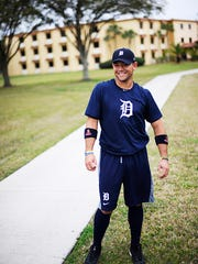 Javier Betancourt, now 19, signed with the Tigers when he was 16.