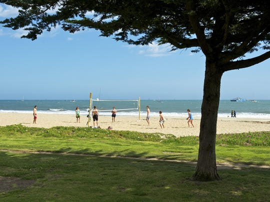 East Beach in Santa Barbara, California, was listed as No. 10 on the 2015 list of best beaches.