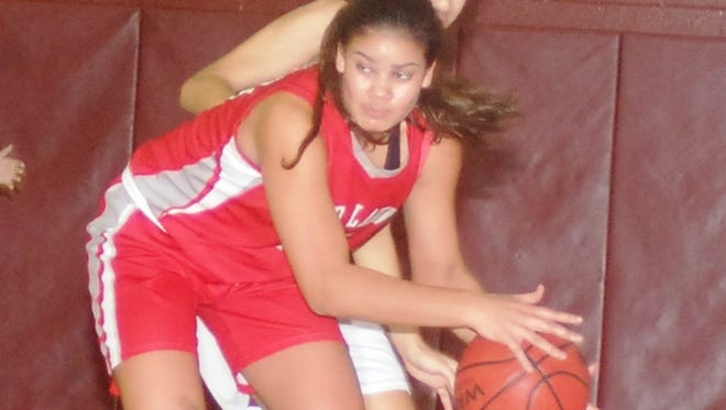 Fair Lawn junior Keyara Martinez was named to the All-Big North first team and led the Cutters in rebounds with 10.7 per game.