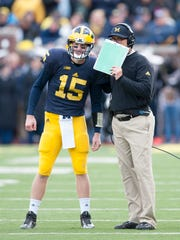 Jake Rudock earned the confidence of his coach, Jim Harbaugh, during the 2015 season.
