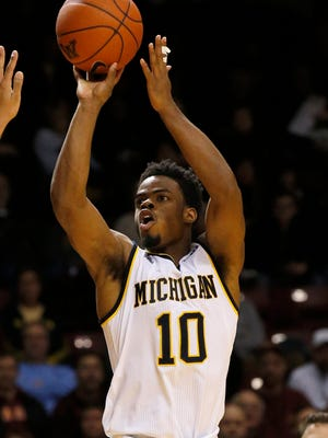 """The situation we're in now, it makes you lick your chops,"" Michigan guard Derrick Walton Jr. said."