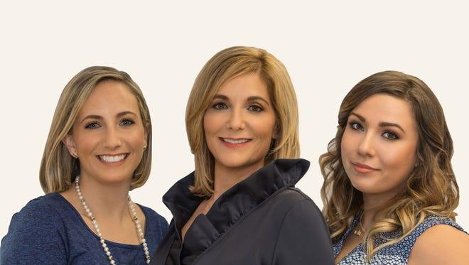 Avery Twiss, Carrie Adams, Jordan Wassell of Adams Media Group.