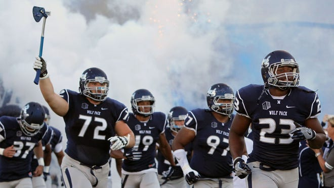 The Wolf Pack takes on Buffalo on Saturday.