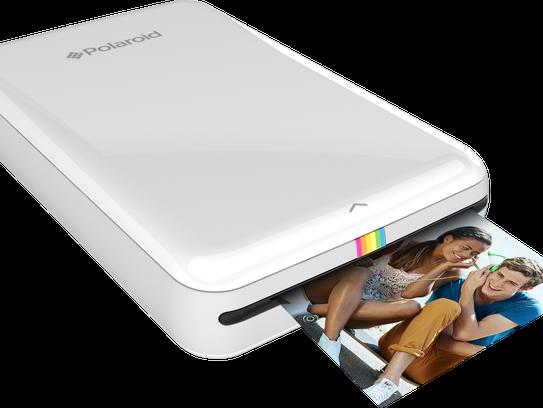 The Polaroid Zip Instant Mobile Printer.