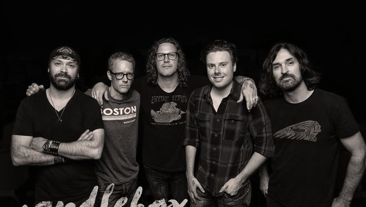 Candlebox performs at the Riverside Warehouse in Shreveport on Friday.